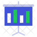 Presentation Bar Graph Chart Icon