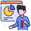 Presentation Business Man Icon