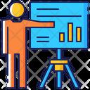 Business Presentation Report Icon