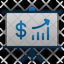 Presentation Money Finance Icon