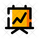 Stat Graph Finance Icon