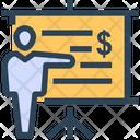 Seo Lecture Dollar Icon