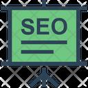 Seo Presentation Optimization Icon