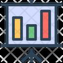 Seo Analytics Presentation Icon