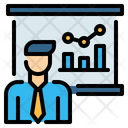 Presentation Board Analysis Icon