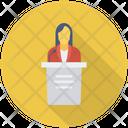 Presentation Speech Podium Icon