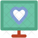 Presentation Heart Sign Icon