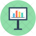 Presentation Graph Board Icon