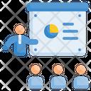 Presentation Business Statistics Icon