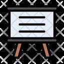 Presentation Board Deck Icon