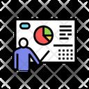 Businessman Presentation Color Icon