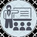 Business Presentation Training Icon