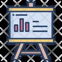 Presentation Presentation Board Graph Icon