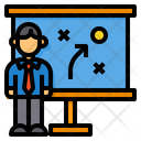 Presentation Management Plan Icon