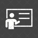 Presentation Paper Exam Icon