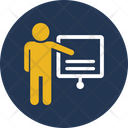 Communication Convention Lecture Icon