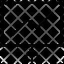 Board Graph Black Board Icon
