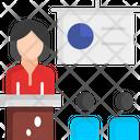 Presentation Training Trainer Icon