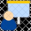 Presentation Board Employee Icon
