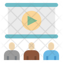 Presentation Projector Meeting Icon