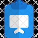 Presentation Clipboard File Icon