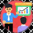 Business Lecture Business Presentation Presentation Icon