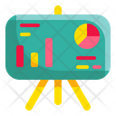 Presentation Graph Growth Icon