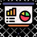 Presentation Conference Bar Chart Icon