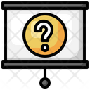 Presentation Question Exam Icon
