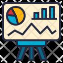Presentation Dashboard Visual Icon