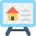 House Projection Screen Icon