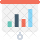 Presentation Bar Chart Icon