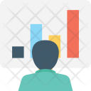 Presentation Economist Graph Icon