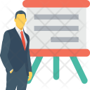 Presentation Training Meeting Icon