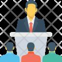 Speech Lecture Presentation Icon