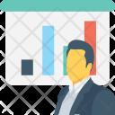 Presentation Graph Bar Icon