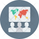 Presentation Geography Lecture Icon