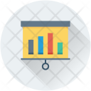 Flipchart Analytics Statistics Icon