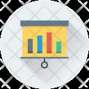 Flipchart Analytics Statistics Icon