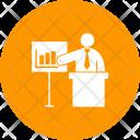 Presentation Employee Presenting Icon