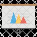 Graphic Presentation Pyramid Icon