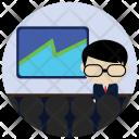 Presentation Board Business Icon