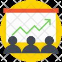 Presentation Business Stats Icon