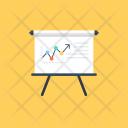 Business Presentation Statistics Icon