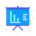 Presentation Board Graph Icon