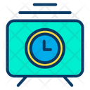 Training Time Management Presentation Time Icon