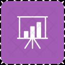 Presentation Board Statistics Icon