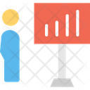 Presentation Salesman Seller Icon