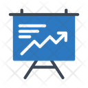 Presentation Board Graph Icon