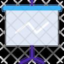 Dashboardv Presentation Board Presentation Icon